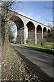 NT8537 : West Learmouth Viaduct (north) by Walter Baxter