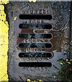 J5081 : Gully grating, Bangor by Rossographer