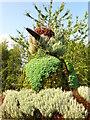 NZ4024 : Floral sculpture by Peter Gill
