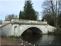 TQ2077 : The Classic Bridge in Chiswick House gardens by David Smith