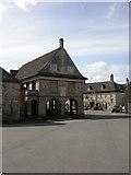 SO8700 : Minchinhampton, market house by Mike Faherty