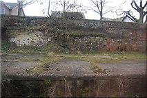 NT9953 : Disused platform, Berwick Station by N Chadwick