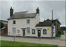 SO8453 : Lock Cottage by Diglis Basin, Worcester by Roger  Kidd
