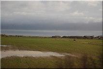 NU0445 : Localised flooding near Goswick by N Chadwick