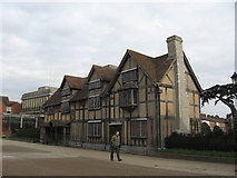 SP2055 : Shakespeare's House, Stratford up on Avon by Richard Rogerson