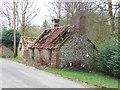 TF8430 : Derelict cottage in Tattersett, Norfolk by Richard Humphrey