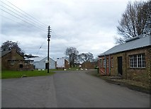 NT3366 : Road into the old army camp at Newbattle by kim traynor