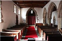 SK7160 : St.Radegund's church interior by Richard Croft
