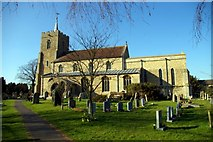 TL3677 : Church of St John the Baptist, Somersham by Tiger