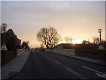 NT5173 : East Lothian Townscape : Victoria Bridge, Haddington by Richard West