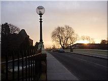 NT5173 : East Lothian Townscape : Sunrise at Victoria Bridge, Haddington by Richard West