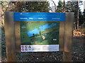 TL8294 : Lynford Water information board by Hugh Venables
