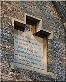 TQ1875 : The Hickey Almshouses, Richmond: commemorative tablet by Stefan Czapski