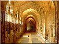 SO8318 : The Cloisters, Gloucester Cathedral by Jonathan Billinger