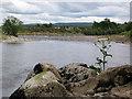 NJ0157 : River Findhorn looking south to Mundole by Jean Aldridge