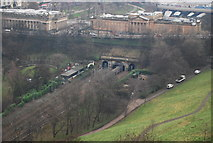 NT2573 : National Gallery seen from the Castle by N Chadwick