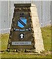 SJ9894 : Hattersley Boundary Stone by Gerald England