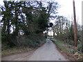 TM3860 : Aldecar Lane, Benhall by Geographer