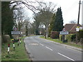 SK6447 : Entrance to Woodborough by Alan Murray-Rust