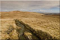 NY5110 : Track to Wet Sleddale by Tom Richardson