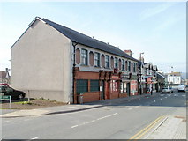 ST1195 : West side of Commercial Street, Nelson by Jaggery