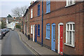 TG1001 : White Horse Street, Wymondham by Stephen McKay