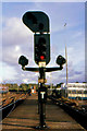 C8532 : Colour light signal, Coleraine station by Albert Bridge