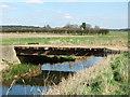 TF6626 : Bridge over Babingley River by Richard Humphrey