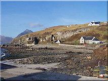 NG5113 : Beach at Elgol by Richard Dorrell