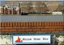 TQ2977 : William Henry Walk by Thomas Nugent