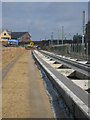 TL4556 : Guided busway - Cambridge station approach by Sandy B