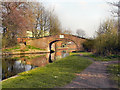 SJ6799 : Bridgewater Canal, Hall House Bridge by David Dixon