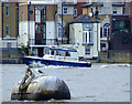 TQ2977 : Small craft on the Thames by Thomas Nugent