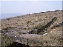 SD9617 : Rochdale Way crosses Broad Head Drain by Raymond Knapman