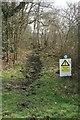 TQ0653 : Bridleway near Humphreys Copse by Paul E Smith