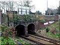 TQ1471 : Railway Tunnel Fulwell by Nigel Mykura