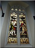 TQ2475 : All Saints, Fulham: stained glass window (18) by Basher Eyre