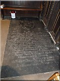 TQ2475 : All Saints, Fulham: floor memorial (ii) by Basher Eyre