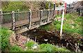 J3673 : Footbridge, Belfast by Albert Bridge