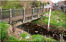 J3673 : Footbridge, Belfast by Albert Bridge