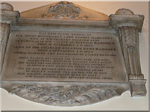 TQ2475 : All Saints, Fulham: memorial (15) by Basher Eyre