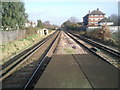 TQ1975 : View from North Sheen station by Marathon