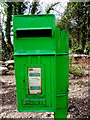 C1131 : Green postbox, Glen by Kenneth  Allen