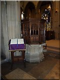TQ2475 : All Saints, Fulham: pulpit (from front) by Basher Eyre