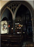 TQ2475 : All Saints, Fulham: organ pipes by Basher Eyre