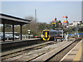 SO8555 : Worcester Shrub Hill Station and Semaphore Signals by Rob Newman