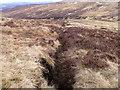 NN6570 : 'Stream' north of Allt Choire Leathanaidh near Dalnaspidal by ian shiell