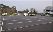 SX9473 : Teignmouth : Dawlish Road Car Park by Lewis Clarke