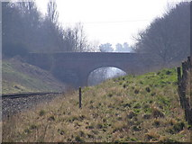 TM3760 : The A1094 bridge over the railway by Adrian Cable