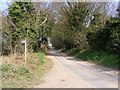 TM4059 : Priory Road, Snape & footpath to Church Common by Geographer